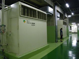 発電機2000kw